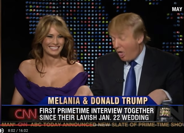 Trump mocked himself in 2005.